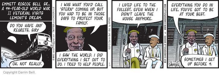 Comic Strip Darrin Bell  Candorville 2013-05-15 lifestyle