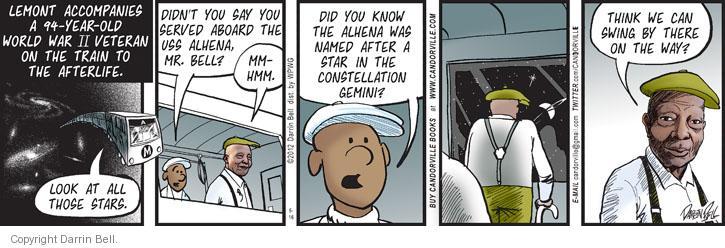 Comic Strip Darrin Bell  Candorville 2013-05-16 ship