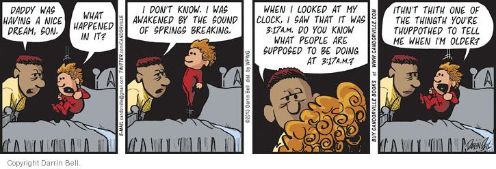 Comic Strip Darrin Bell  Candorville 2013-05-20 spring