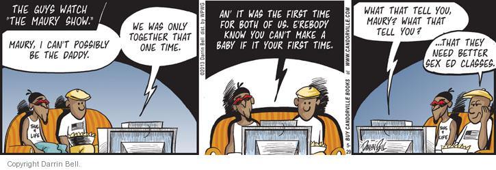 Comic Strip Darrin Bell  Candorville 2013-05-29 better