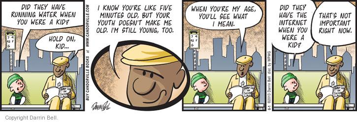 Comic Strip Darrin Bell  Candorville 2013-06-01 youth