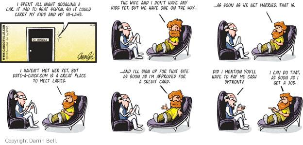 Comic Strip Darrin Bell  Candorville 2013-06-16 credit card
