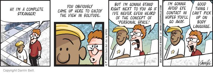Comic Strip Darrin Bell  Candorville 2013-06-17 space