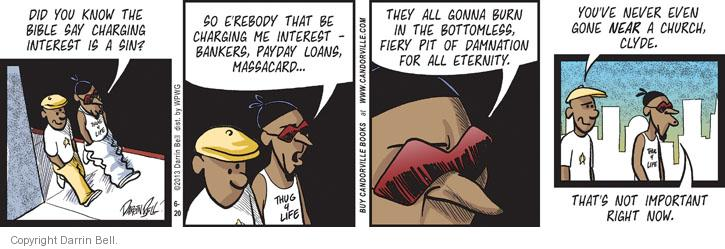 Comic Strip Darrin Bell  Candorville 2013-06-20 finance