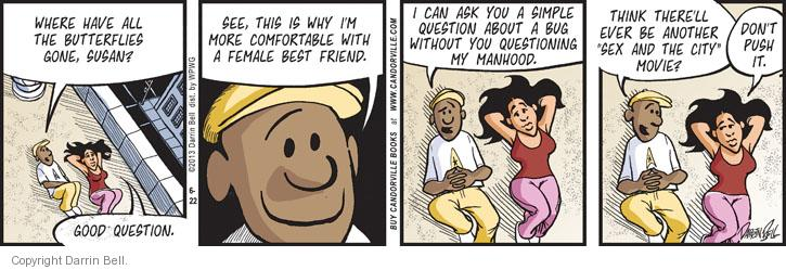 Comic Strip Darrin Bell  Candorville 2013-06-22 good