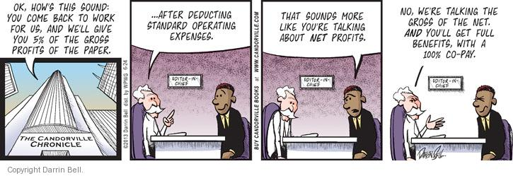 Comic Strip Darrin Bell  Candorville 2013-06-24 expense