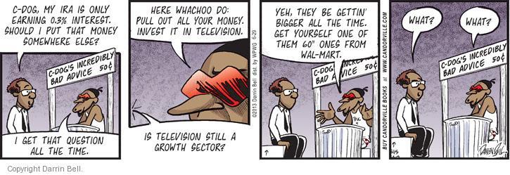 Comic Strip Darrin Bell  Candorville 2013-06-29 stock