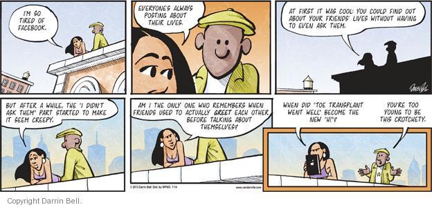 Comic Strip Darrin Bell  Candorville 2013-07-14 update