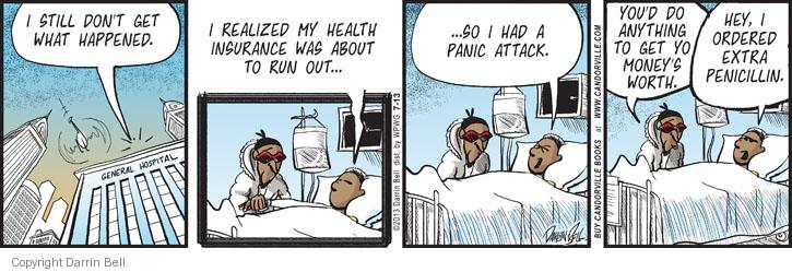 Comic Strip Darrin Bell  Candorville 2013-07-13 medication