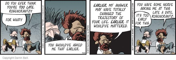 Comic Strip Darrin Bell  Candorville 2013-07-23 earlier