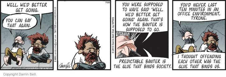 Comic Strip Darrin Bell  Candorville 2013-07-25 environment