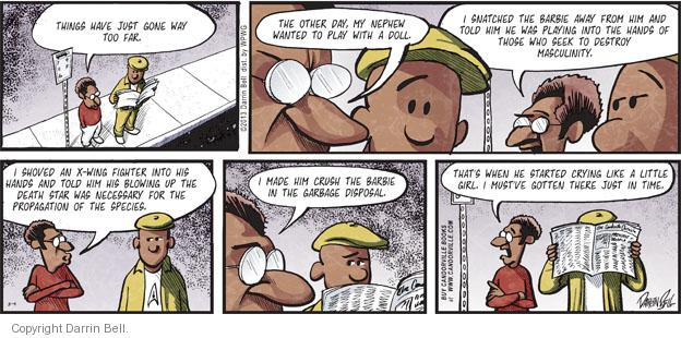 Comic Strip Darrin Bell  Candorville 2013-08-04 other