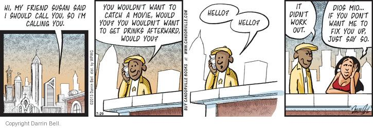 Comic Strip Darrin Bell  Candorville 2013-07-29 friendship