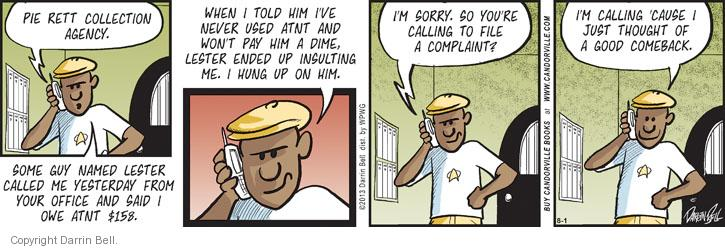 Comic Strip Darrin Bell  Candorville 2013-08-01 good