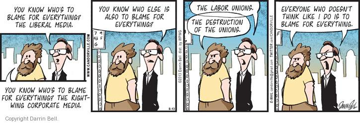 Comic Strip Darrin Bell  Candorville 2013-08-13 destruction