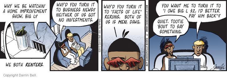 Comic Strip Darrin Bell  Candorville 2013-08-20 better