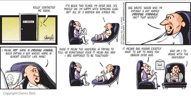 Comic Strip Darrin Bell  Candorville 2013-09-01 psychologist