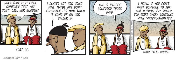 Comic Strip Darrin Bell  Candorville 2013-09-26 good