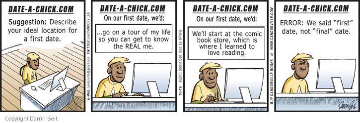 Comic Strip Darrin Bell  Candorville 2013-10-19 chick