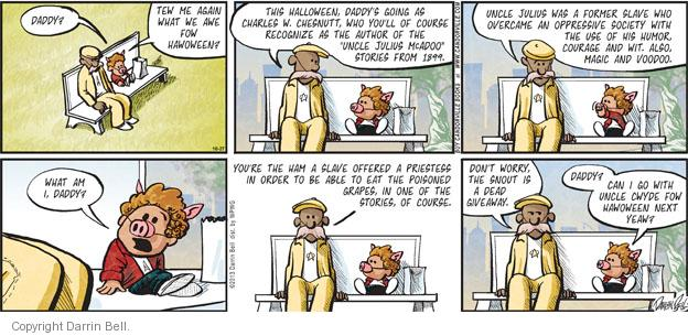 Comic Strip Darrin Bell  Candorville 2013-10-27 magic