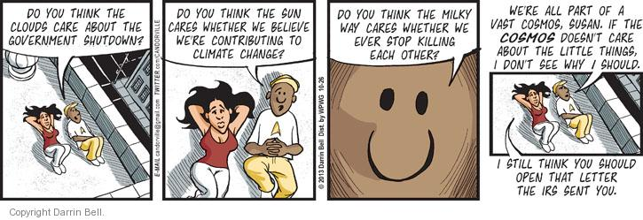 Comic Strip Darrin Bell  Candorville 2013-10-26 other