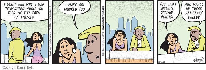 Comic Strip Darrin Bell  Candorville 2013-10-28 2011