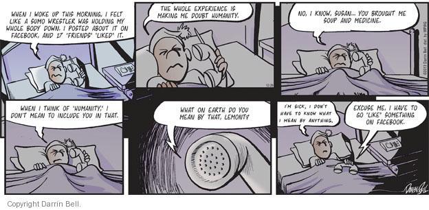 Comic Strip Darrin Bell  Candorville 2013-12-29 doubt