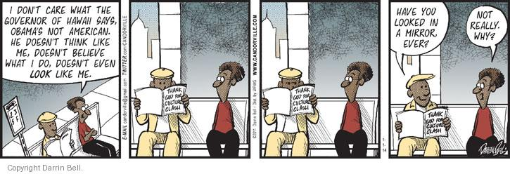 Comic Strip Darrin Bell  Candorville 2014-01-04 governor