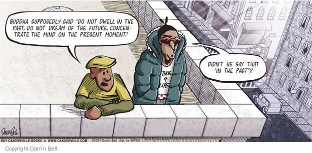 Comic Strip Darrin Bell  Candorville 2014-01-12 awareness