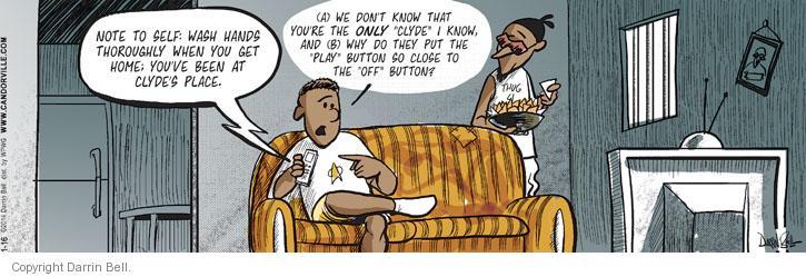 Comic Strip Darrin Bell  Candorville 2014-01-16 dirty