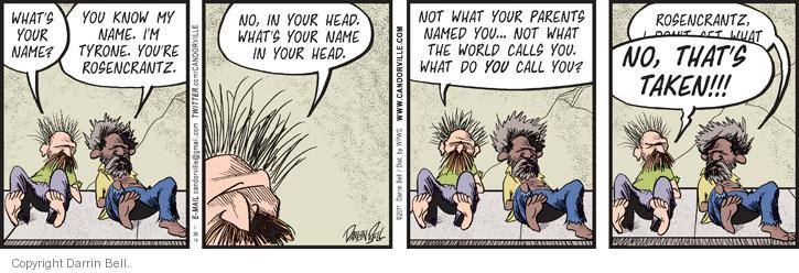 Comic Strip Darrin Bell  Candorville 2014-01-28 philosophical