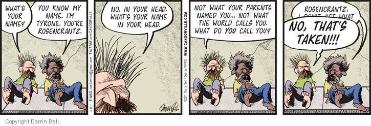 Comic Strip Darrin Bell  Candorville 2014-01-28 world