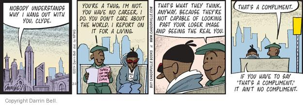 Comic Strip Darrin Bell  Candorville 2014-02-03 real