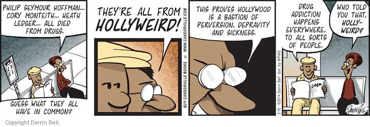 Comic Strip Darrin Bell  Candorville 2014-02-15 everywhere