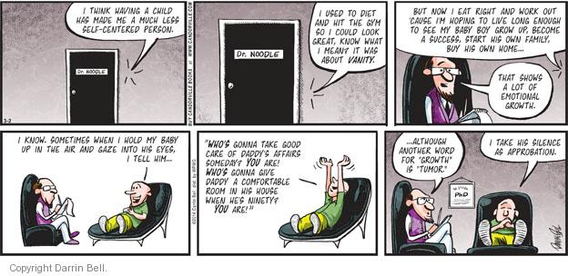 Comic Strip Darrin Bell  Candorville 2014-03-02 gym