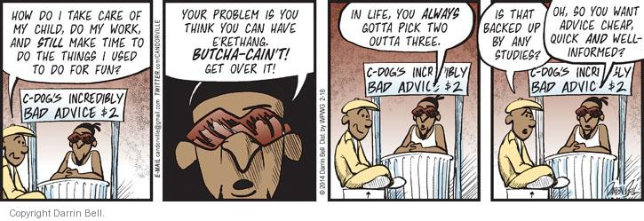 Comic Strip Darrin Bell  Candorville 2014-02-18 fun