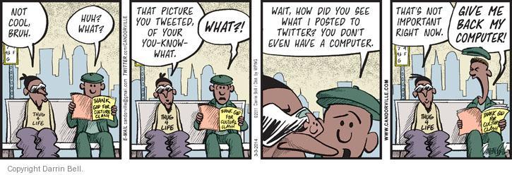 Comic Strip Darrin Bell  Candorville 2014-03-03 post