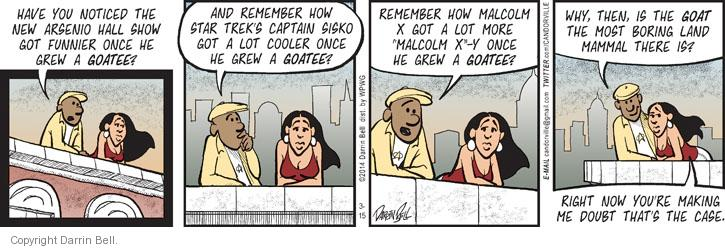Comic Strip Darrin Bell  Candorville 2014-03-15 captain