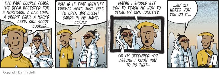 Comic Strip Darrin Bell  Candorville 2014-03-18 credit card