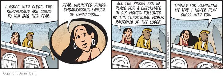 Comic Strip Darrin Bell  Candorville 2014-03-21 loser