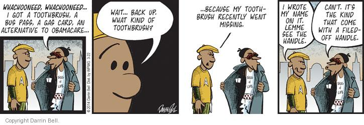 Comic Strip Darrin Bell  Candorville 2014-03-22 theft