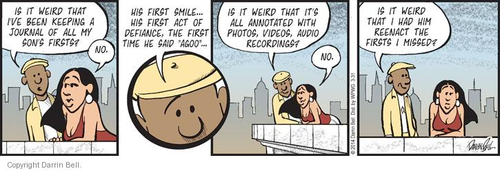 Comic Strip Darrin Bell  Candorville 2014-03-31 event
