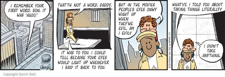 Comic Strip Darrin Bell  Candorville 2014-04-03 dad