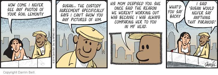 Comic Strip Darrin Bell  Candorville 2014-04-04 custody