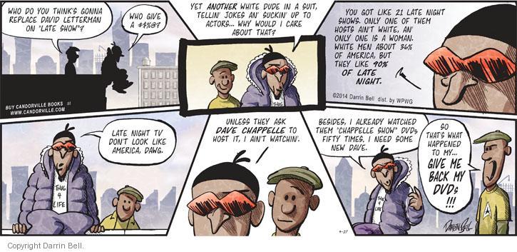 Comic Strip Darrin Bell  Candorville 2014-04-27 man