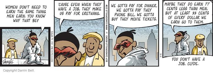 Comic Strip Darrin Bell  Candorville 2014-04-16 dinner