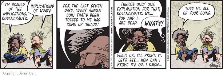 Comic Strip Darrin Bell  Candorville 2014-05-06 afterlife