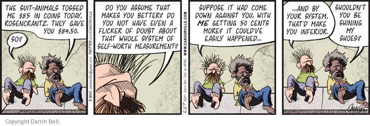 Comic Strip Darrin Bell  Candorville 2014-05-10 superiority
