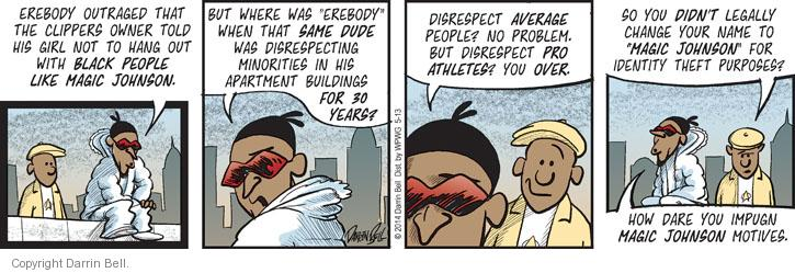 Comic Strip Darrin Bell  Candorville 2014-05-13 professional basketball