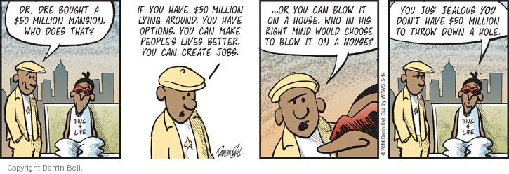 Cartoonist Darrin Bell  Candorville 2014-05-14 people